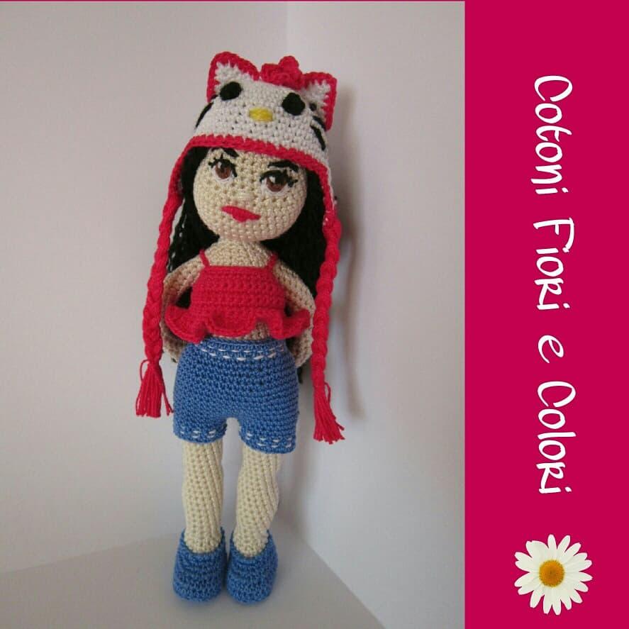 Raccolta di Idee: 10 progetti per fare bambole all'uncinetto ... | 887x887